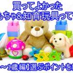 買ってよかったおもちゃ&知育玩具って何?【0歳~1歳編】選ぶポイントを紹介!