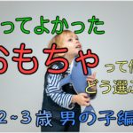 買ってよかったおもちゃ&知育玩具って何?【2歳~3歳男の子編】選ぶポイントを紹介!